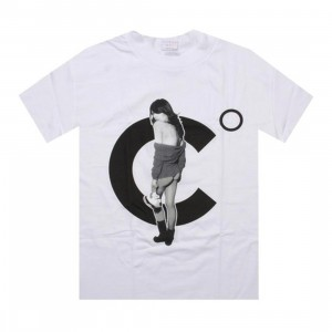 Caked Out Chicks With Kicks 3 Tee (white)