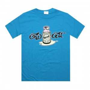 Caked Out Weaksauce Tee (turquoise)