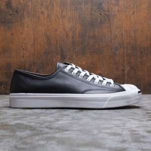 Converse Men Jack Purcell Leather Ox (black / white)