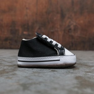 Converse Infants Chuck Taylor All Star Cribster Mid (black / natural ivory / white)