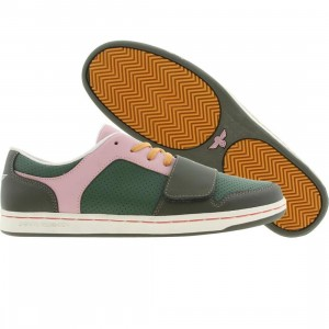 Creative Recreation Cesario Low (military / forest / pink / mist)