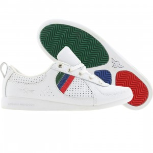 Creative Recreation Womens Galow (white / red / blue / green / cr)