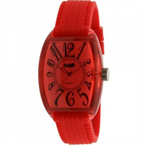 Dumb Analog Watch (red)