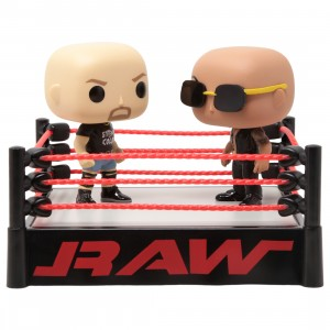 Funko POP Moment WWE - Stone Cold Steve Austin And The Rock (red)