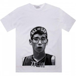 The Forest Lab BAL-LIN Tee (white)