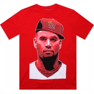 The Forest Lab Red LA Tee (red)