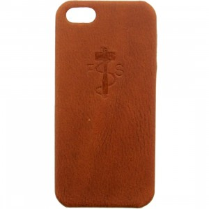 Focused Space iPhone 5 Leathersmith Case (brown)