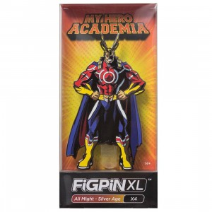 FiGPiN XL My Hero Academia All Might Silver Age #X4 (red)