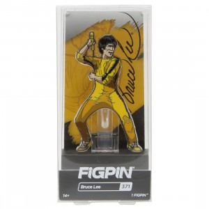 FiGPiN Bruce Lee Yellow Jumpsuit #371 (yellow)
