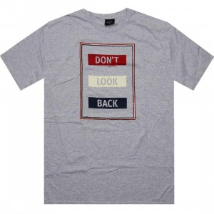 HUF Dont Look Back Tee (athletic heather)