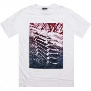 HUF Stacked Boards Tee (white)
