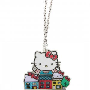 Hello Kitty City Necklace (silver)