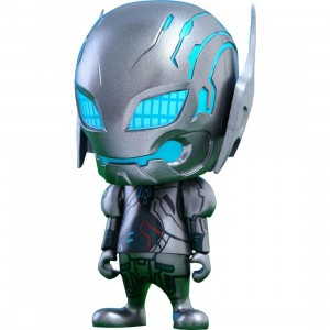 Hot Toys Ultron Sentry Avengers Age of Ultron Cosbaby Series 1 4 inches Vinyl Figure (silver)