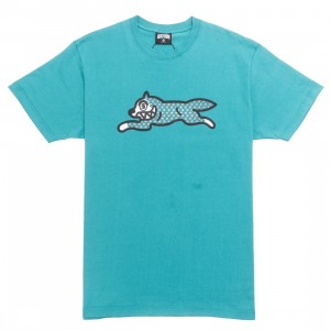 Ice Cream Men Fossil Fueld Tee (green / blue)