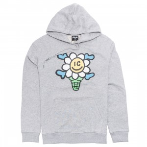 Ice Cream Men Polar Caps Hoody (grey / heather)