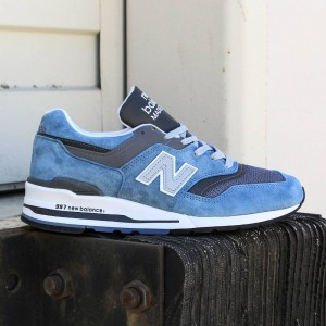 New Balance Men 997 Age of Exploration M997CSP - Made In USA (blue / blue jay / grey)