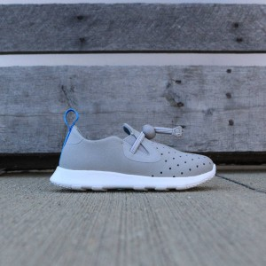 Native Toddlers Apollo Moc (gray / pigeon / shell white)