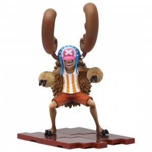 Bandai Figuarts Zero One Piece Cotton Candy Lover Chopper Horn Point Ver. Figure (brown)