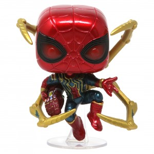 Funko POP Marvel Endgame Iron Spider With Nano Gauntlet (red)