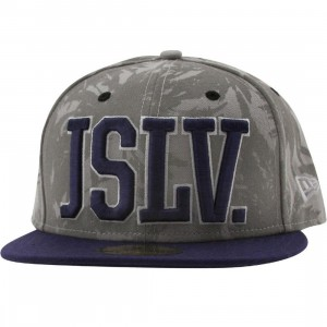 JSLV Palms New Era Fitted Cap (grey)