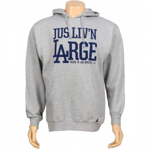 JSLV Livin Large Pullover Hoody (athletic heather)