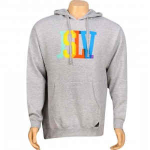 JSLV Issue Standard Overlay Pullover Hoody (athletic heather)