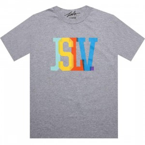 JSLV Issue Standard Overlay Tee (athletic heather)