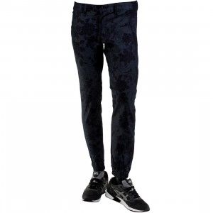 Kennedy Denim Co The Weekend Jogger Pants (blue / blue floral)