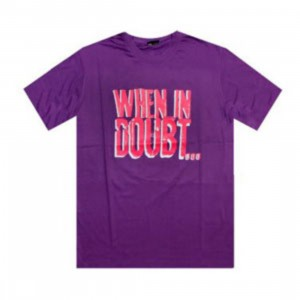 K1X When In Doubt Tee (plum / pink / white)
