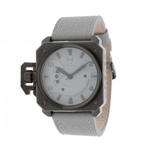 Meister Chief Leather Strap Watch (black / grey) - PYS.com Exclusive