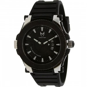 Meister Prodigy Stainless Watch (black / silver)