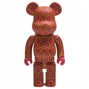 Medicom The Shining Overlook Hotel Carpet Pattern 400% Bearbrick Figure (red)