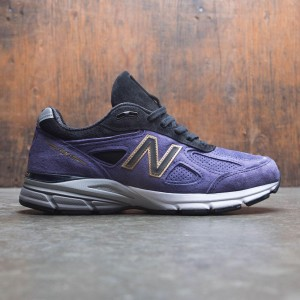 New Balance Men 990v4  M990BP4 - Made In USA (black / wild indigo)