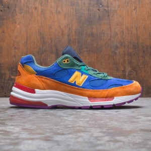 New Balance Men 992 M992MC - Made In USA (orange / blue / green)