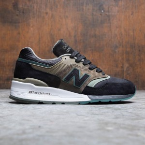 New Balance Men 997 M997PAA - Made In USA (black / green)