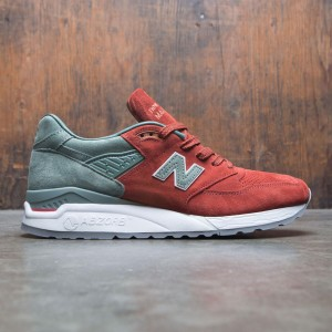 New Balance x Concepts Men 998 City Rivals Boston M998BMG - Made In USA (red / olive)