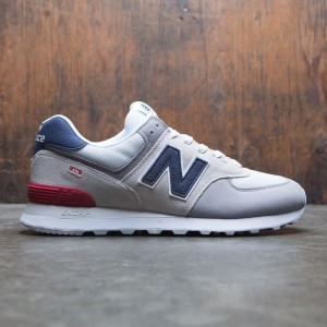 New Balance Men 574 Marbled Street ML574UJD (gray / nimbus cloud / team red)