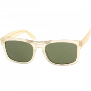 Nothing and Company Willmore Sunglasses (orange / amber)