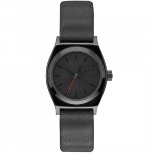 Nixon x Star Wars Small Time Teller Leather Watch - Vader (black)