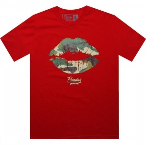 Popular Demand Camo Kiss Tee (red) - Early Release