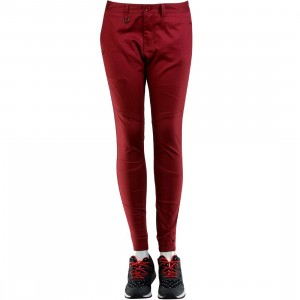 Publish Women Lexie Singature Over Dyed Twill Jogger Pants (burgundy / maroon)