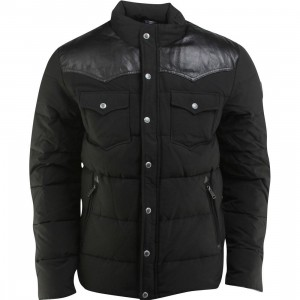 Penfield Stapleton Down Insulated Jacket (black)