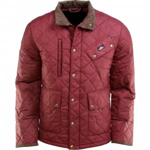 Penfield Colwood Quilted Trail Jacket (burgundy)