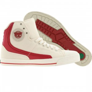 PF Flyers Glide Core Reissue (natural / red)