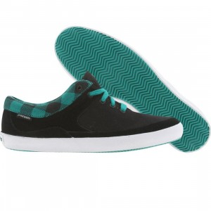 Pointer Womens Tamzig (black / turquoise hrnb check)