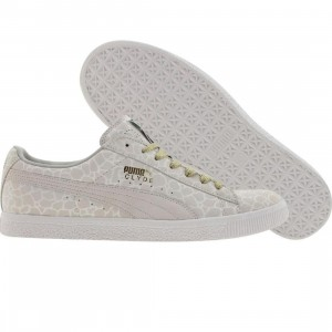 Puma ROB L Clyde Leather (white / gold)