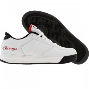 Reebok Big Kids S Carter BBall Low (white / black / red - Chicago Edition)
