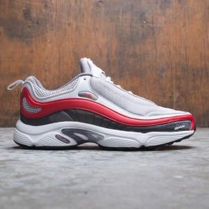 Reebok Men Daytona DMX MU (gray   skull grey   shark   white   red 2cba683b5