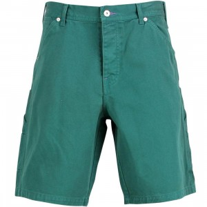 Rock Smith Jean Shorts (turquoise green)
