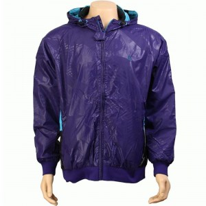 Rock Smith All Patent Hooded Jacket (purple)